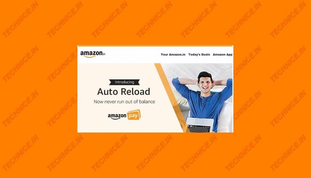 How To Auto Reload Amazon Pay Balance
