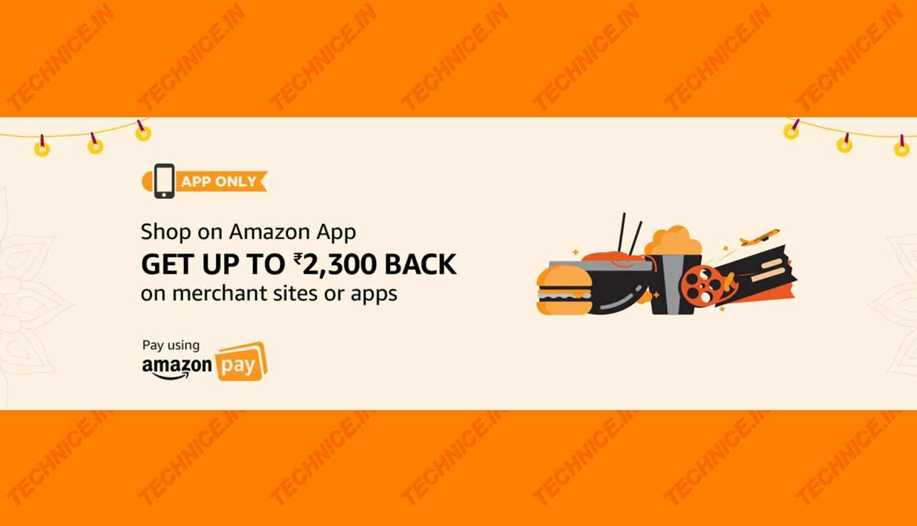 Amazon Shop And Get Rs 2300 Cashback On Amazon App 2018