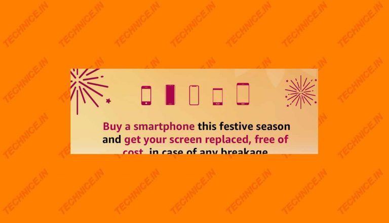 Amazon Free Screen Replacement Offer