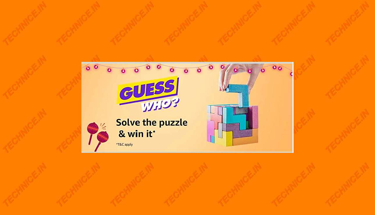 Amazon Guess Who Puzzle Answers 2019