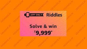 Amazon Riddles Quiz Answers Win 9999