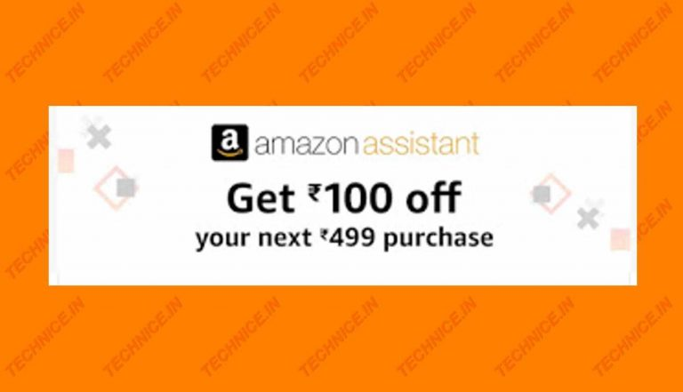 Amazon Assistant Poster 2019 Free Rs 100