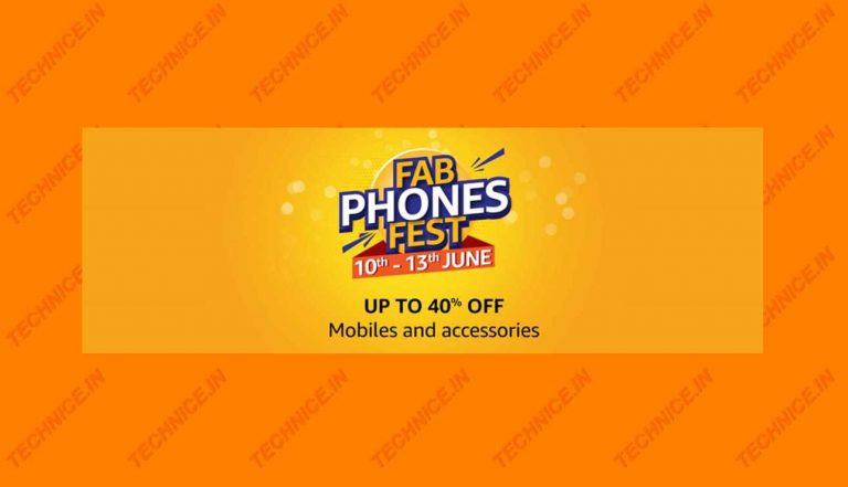 Amazon FAB Phone Fest Get Cashback And Discounts