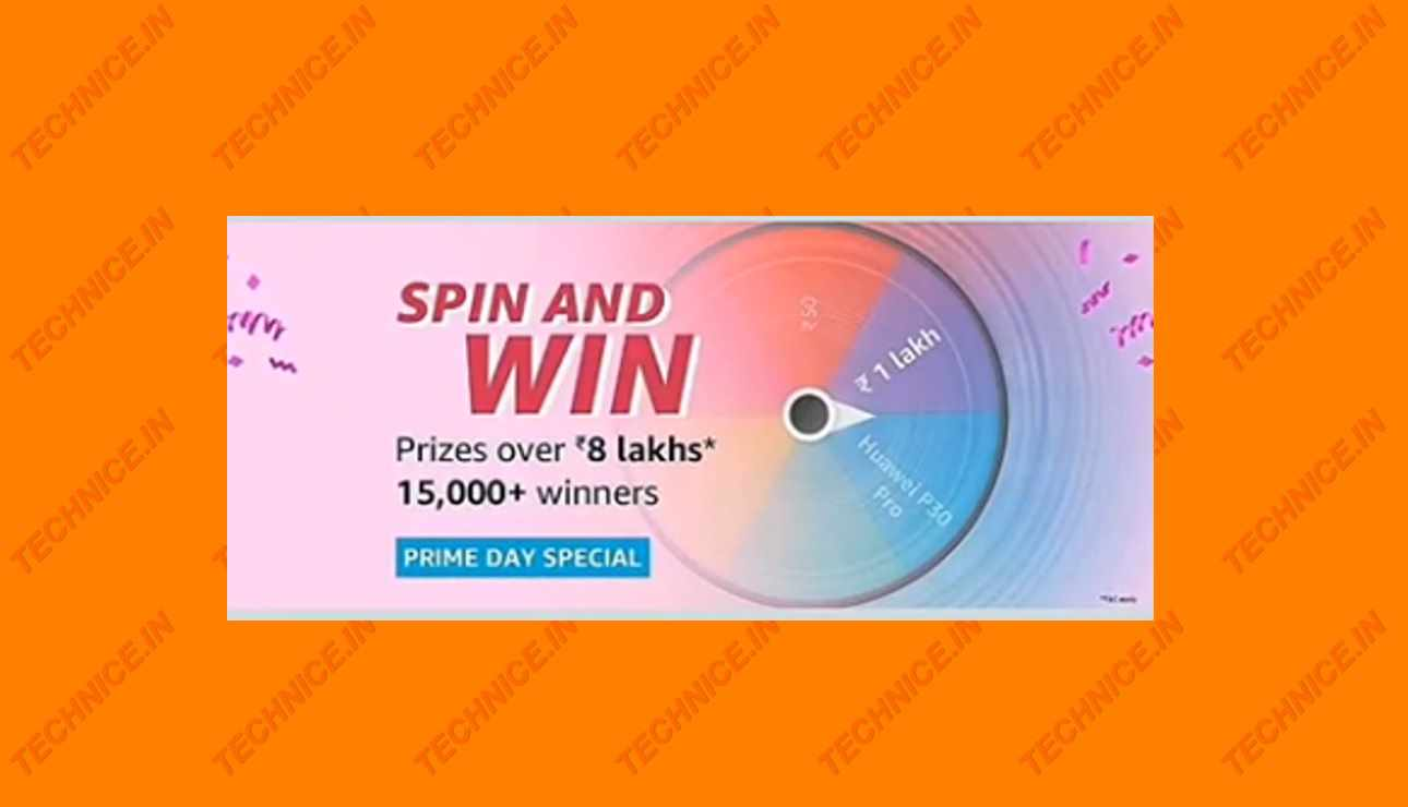 Amazon Spin And Win Quiz Answers Win 8 Lakh Prize