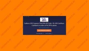 Cashkaro Cadbury Offers Discounts Cashback