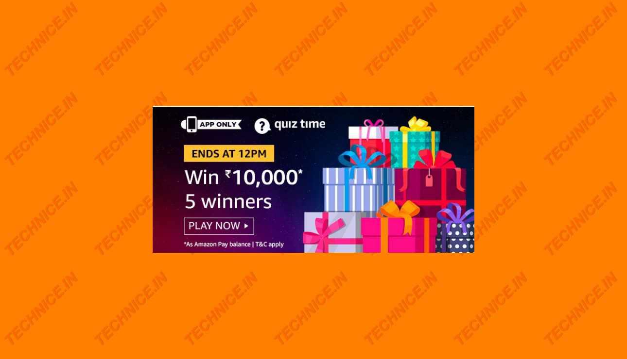 Amazon Rs 10000 Quiz Answers-2