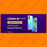 Amazon Huawei P30 Pro Quiz Answers