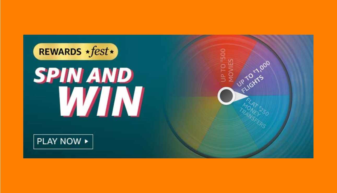 Amazon Rewards Fest Spin And Win Quiz Answers