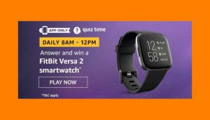Amazon FitBit Versa 2 Quiz Answers