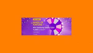 Amazon Wheel Of Fortune Answers Win Samsung Galaxy S20+