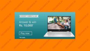 Amazon Microsoft Modern PC Quiz Answers Win Rs 10000