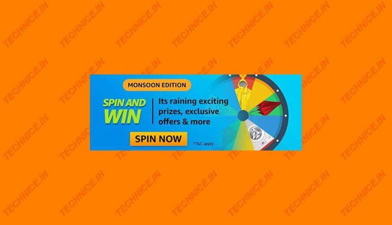 Amazon Monsoon Edition Spin And Win Quiz Answers