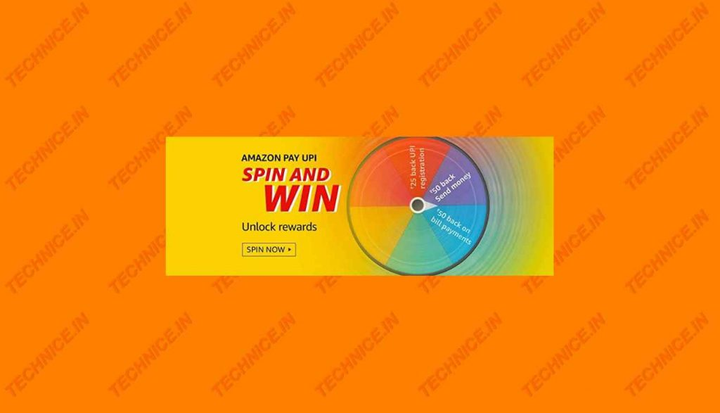 Amazon Pay UPI Spin And Win Quiz Answers Win Rewards