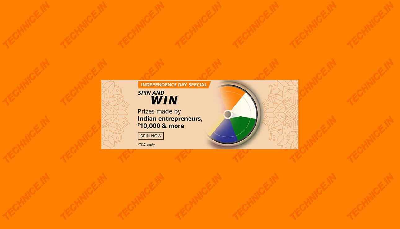 Amazon Independence Day Special Spin And Win Answers