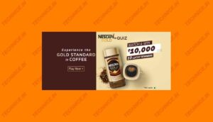 Amazon Nescafe Gold Quiz Answers Win Rs 10000