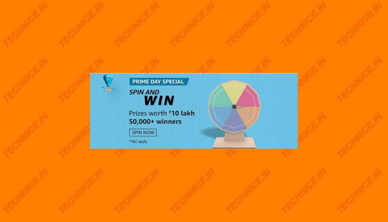 Amazon Prime Day Special Spin And Win Answers Win 10 Lakh
