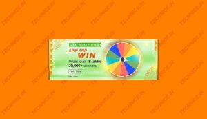 Amazon Great Indian Festival Spin And Win Answers