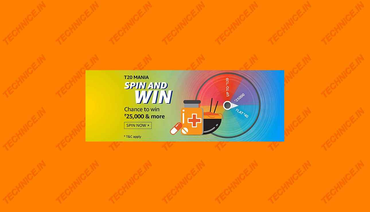 Amazon T20 Mania Spin And Win Quiz Answers Win Rs 25000 And More Prizes 29 September 2020 Technice In