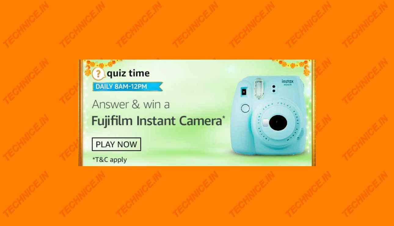 Amazon Fujifilm Instant Camera Quiz Answers