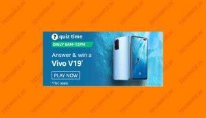 Amazon Vivo V19 Quiz Answers Get Vivo V19 Free