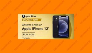 Amazon iPhone 12 Quiz Answers Win Apple iPhone 12 Free