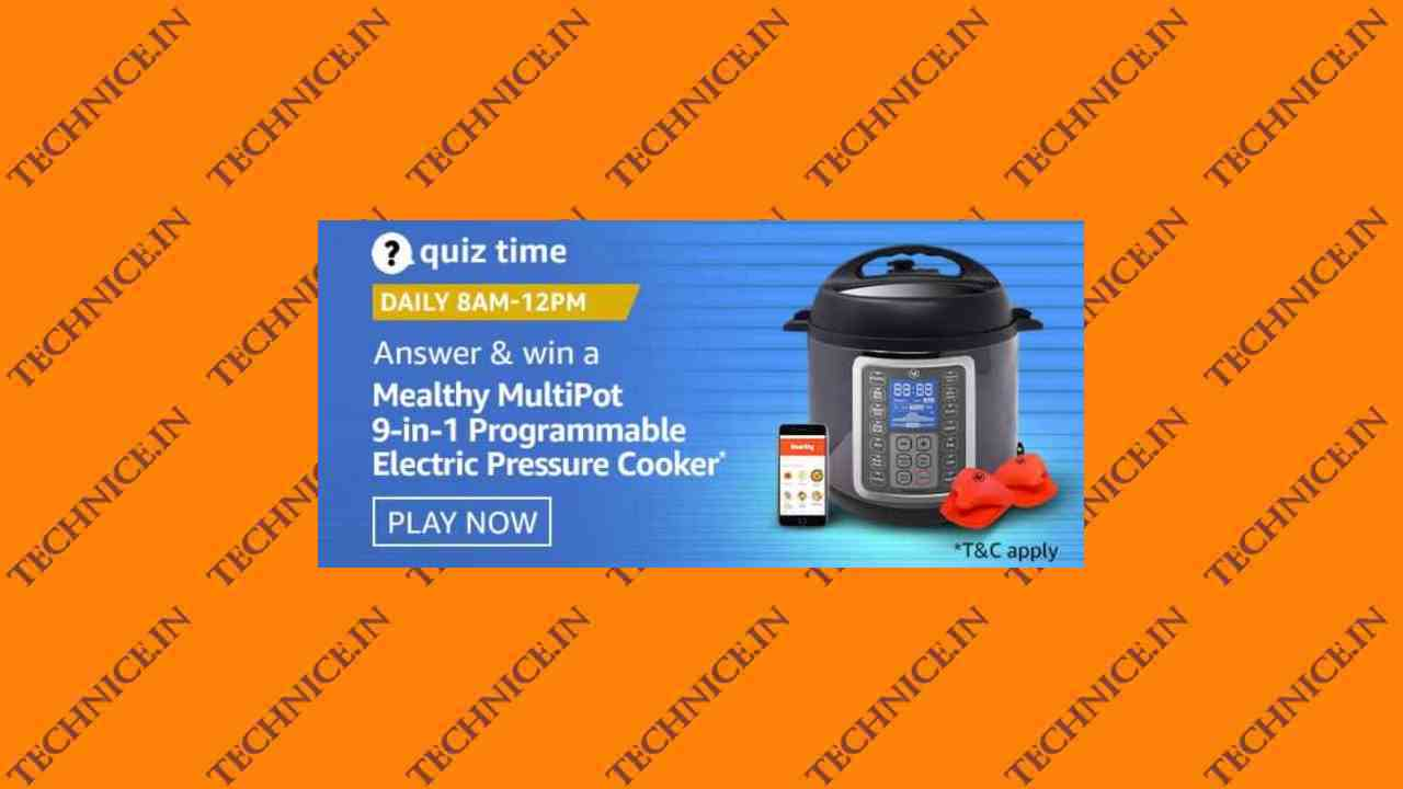 Amazon Mealthy Pressure Cooker Quiz Answers Get Free Pressure Cooker