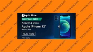 Amazon Apple iPhone 12 Quiz Answers Get Free iPhone 12