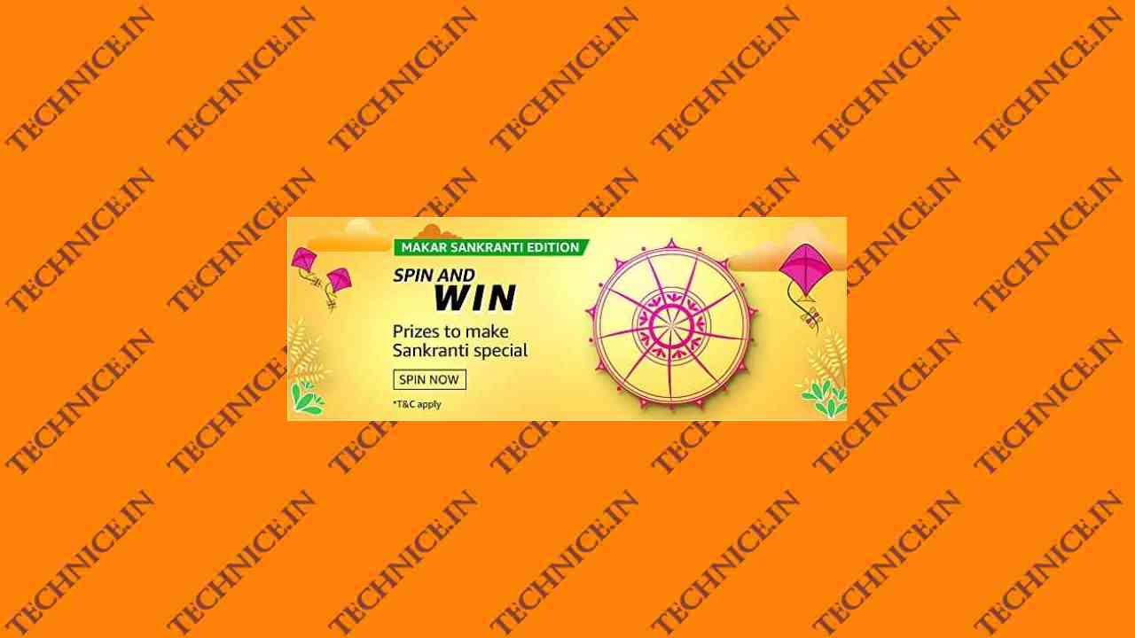 Amazon Makar Sankranti Edition Spin And Win Quiz Answers