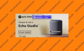 Amazon Echo Studio Quiz Answers Win Echo Studio Black