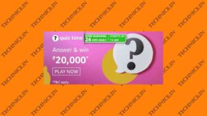 Amazon Rs 20000 Quiz Answers Get Rs 20000 Money Free