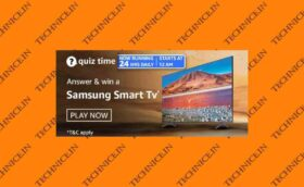 Amazon Samsung Smart TV Quiz Answers Get Free TV From Amazon