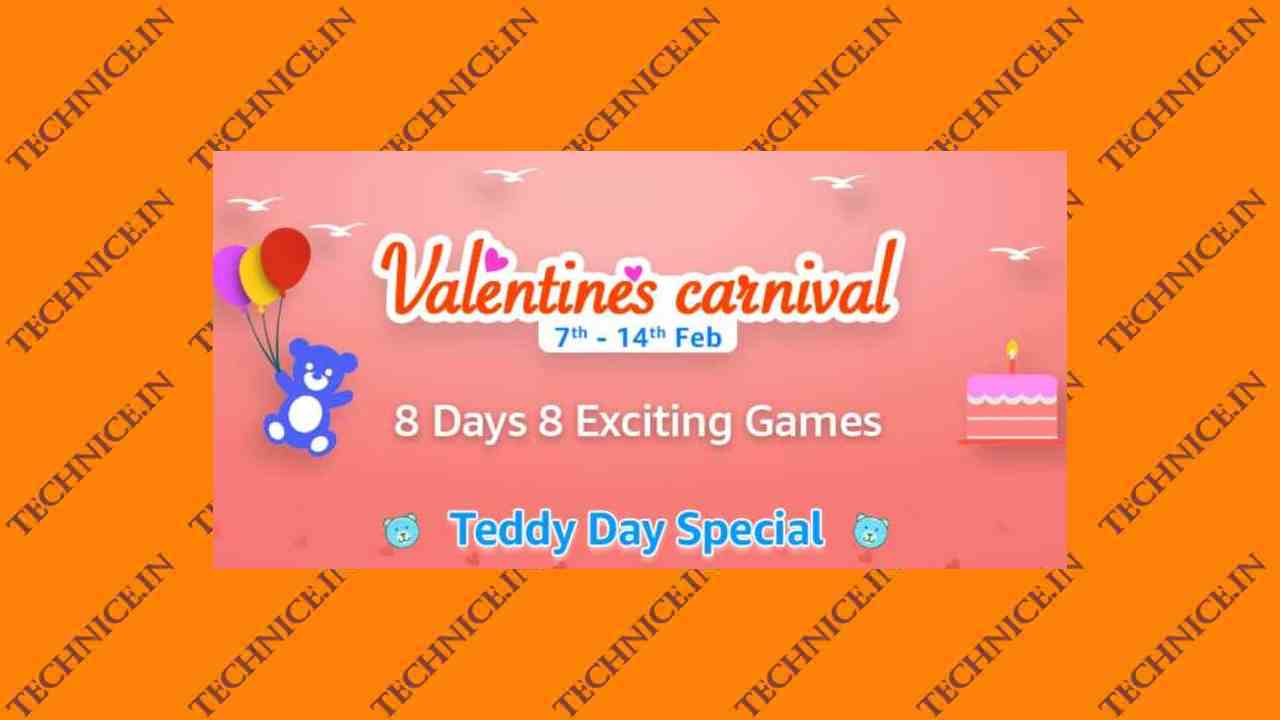 Amazon Valentines Carnival Quiz Answers February 2021