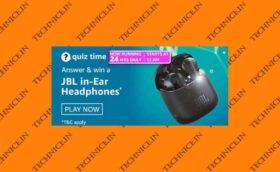 Amazon JBL Headphones Quiz Answers Win JBL in-ear Headphones