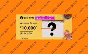 Amazon Rs 10000 Quiz Answers Win Rs 10000 Amazon Pay