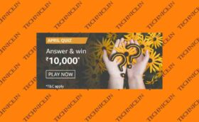 Amazon April Quiz Answers Win Rs 10000 Amazon Pay