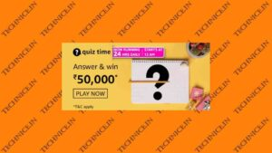 Amazon Rs 50000 Quiz Answers Win Rs 50000 Money Free