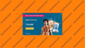 Amazon Find Your Protein Quiz Answers Win Rs 10000 Money
