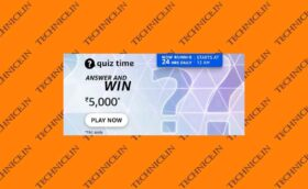 Amazon Rs 5000 Quiz Answers Get Rs 5000 Money Free Today