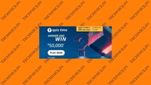 Amazon Rs 50000 Quiz Answers Win Rs 50000 Money Free Today
