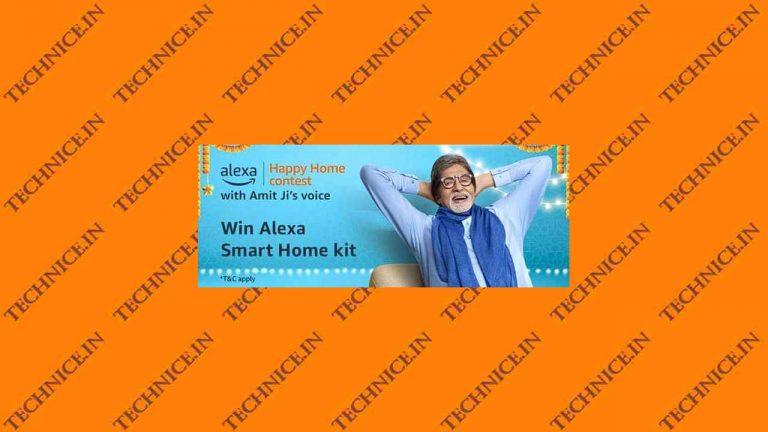 Amazon Alexa Happy Home Contest Answers Win Alexa Smart Home Kit Free